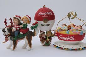 cbells cbell s soup ornaments lot 90s vintage