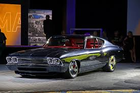 chevelle camaro chevrolet performance unveils slammer camaro and chevelle at