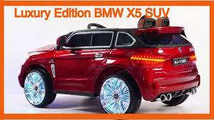 bmw x5 electric car luxury edition bmw x5 suv style 12v power wheels ride on