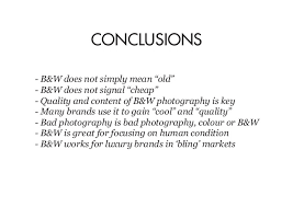 the semiotics of black and white photography