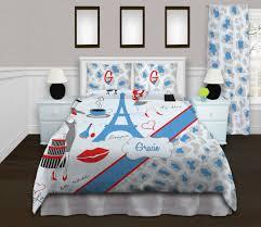 Eiffel Tower Bed Set Eiffel Tower Comforter Beds Decoration