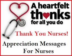 appreciation messages and letters nurses