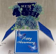 45th wedding anniversary tinyrose s craft room pop up box 45th wedding anniversary card