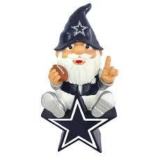 dallas cowboys logo gnome home decor home office