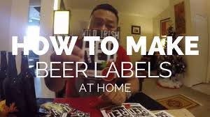 how to make beer labels for home brew nepali brewboy channel