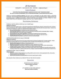 summary resume template effective chef resume template and