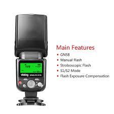 amazon com voking vk750 manual lcd display universal flash