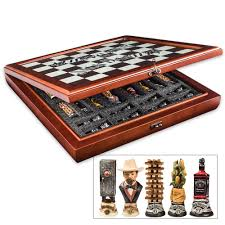 jack daniels chess set the coolest chess set on the planet all