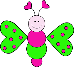 beelte clipart cute butterfly pencil color beelte clipart