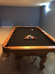 ebonite pool table 3 piece slate 8x4 pool table slate kijiji in alberta buy sell save with