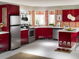 kitchen red kitchen cabinets and 13 red kitchen walls country