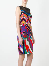 roberto cavalli clothing online roberto cavalli lace panel fitted
