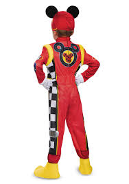 race car halloween costume mickey roadster deluxe toddler boys costume