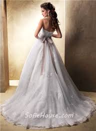 princess ball gown sweetheart spaghetti strap tulle lace wedding