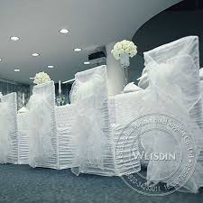 Cheap Chair Sashes Wedding White Organdy Spandex Cheap Chair Covers Chair Sashes
