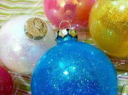 diy glitter ornaments green horned unicorn