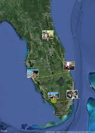 Florida Everglades Map by Florida By Rv Our