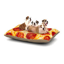 pizza dog bed pizza my heart dog bed by kess original kess inhouse
