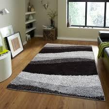 Home Dynamix Vinyl Floor Tiles by Home Dynamix Area Rugs Synergy Shag Rug S1005 480 Black Gray