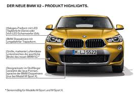 2018 bmw x2 f39 goes official boasts head turning exterior