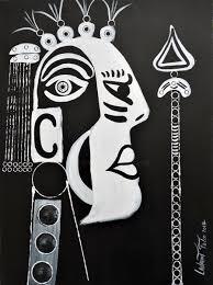 tableau portrait noir et blanc africa number 1 dernières œuvres