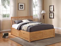 stylish king size platform bed with drawers king size platform