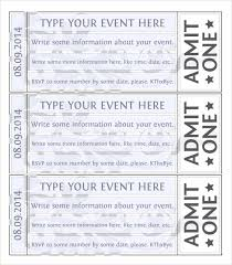 exit ticket exit ticket template movie ticket template free