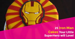 25 iron man cakes your little superhero will love