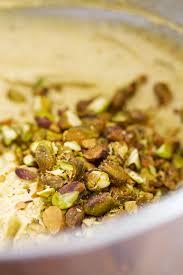gluten free pistachio pound cake versus dough