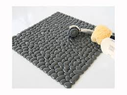 tappeti doccia tappeto antiscivolo gedy g pietra per doccia e vasca grigio