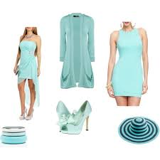 tiffany blue clothes u0026 accessories polyvore