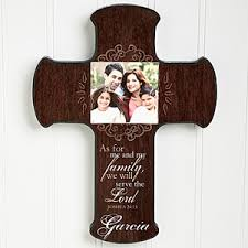 wall crosses personalized photo wall cross family blessings