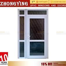 Vented Exterior Door Balcony Sliding Type Vented 36 X 80 Pre Hung Oversize Exterior