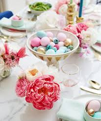Easter Decorations Table Setting by Easter Decorating Ideas Table Settings U0026 Centerpieces