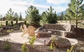 native plant seed flagstone patio and fire pit flagstaff native plant and seed
