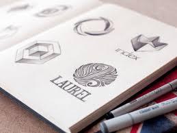 20 inspiring logo sketches ultralinx