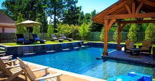 furniture wonderful backyard pool ideas for better relaxing