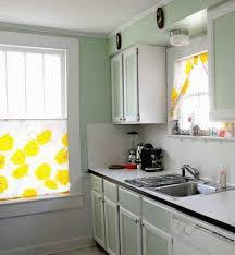 White Kitchen Curtains by Yellow And White Curtains Exclusive Home Indoor Outdoor Solid