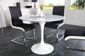 table de cuisine ronde en verre pied central ordinary table pied central avec allonge 2017 avec table ronde