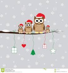 owl christmas merry christmas royalty free stock photography image 34741187