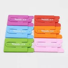 kalaixing silicone credit card holder stand for phone tablet