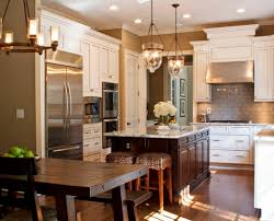 Kitchen Design Traditional Home by White Kitchen Cabinets With Hardwood Floors Fabulous Home Design