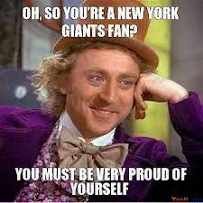 New York Giant Memes - 22 meme internet oh so you re a new york giants fan you must be