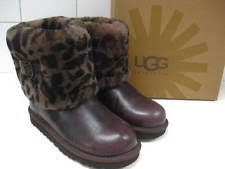 womens ellee ugg boots uk ugg australia winter zip 100 leather boots for ebay