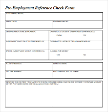 References For Resume Template Sample Reference Check Template 14 Free Documents In Pdf Word
