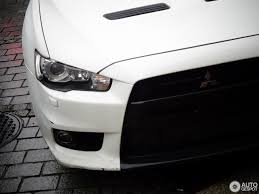 lancer mitsubishi white mitsubishi lancer evolution x 23 september 2017 autogespot