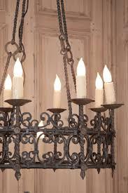 Spanish Revival Chandelier Chandelier Gothic Rod Iron Editonline Us