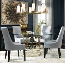 brass glass dining table jules polished brass glass pedestal table modern dining room