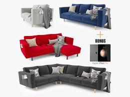 Modern Couch 3d Model Modern Sofa Set 01 Cgtrader