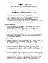 Resume Services London Ontario Anita Evans Hi Def Church Resume Aug 2016 Pdf